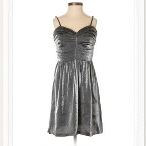 UO silver cocktail dress